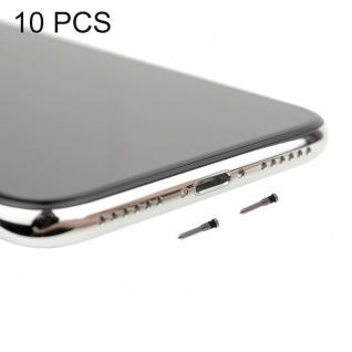 Ersatzschrauben Schrauben Set für Apple iPhone X / 10 Ersatz Spare Parts Weiß