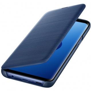 Samsung LED View Cover Schutz Tasche EF-NG960PLEGW für Galaxy S9 Hülle Blau Etui - Vorschau 5