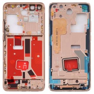Mittelrahmen für Huawei P40 Pro Gold Middle Frame Rahmen Gehäuse Ersatzteil Neu
