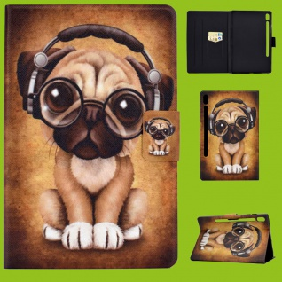 Für Lenovo Tab M10 Plus 10.3 Zoll X606F Motiv 52 Tasche Kunst Leder Hülle Etuis