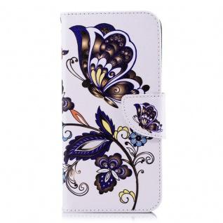 Tasche Wallet Book Muster Motiv 36 für Smartphones Schutz Hülle Case Cover Etui - Vorschau 2