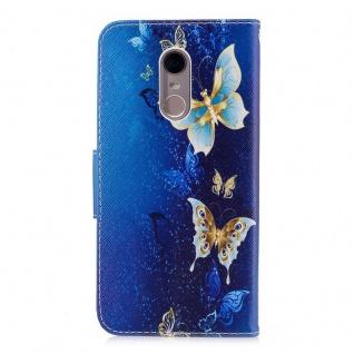 Für Huawei P20 Kunstleder Tasche Book Motiv 38 Schutz Hülle Case Cover Etui Neu - Vorschau 3