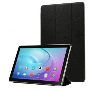 Für Samsung Galaxy Tab S6 Lite.Wake UP Smart Cover Tablet Tasche Hülle Schwarz