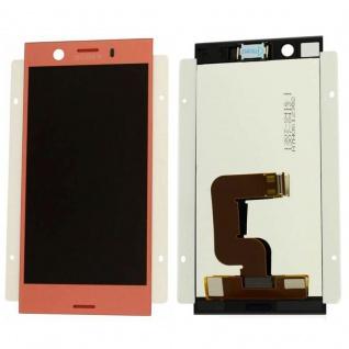 Sony Display LCD Komplett für Xperia XZ1 Dual G8342 Reparatur Rosa Ersatzteil