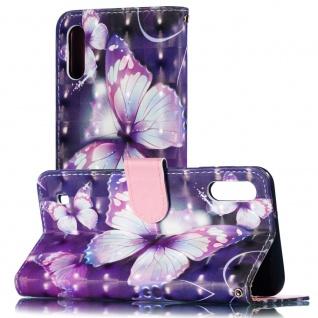 Für Samsung Galaxy A40 Kunstleder Tasche Wallet Motiv 33 Schutz Hülle Etuis Neu