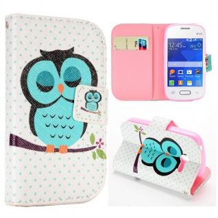 Schutzhülle Motiv 42 für Samsung Galaxy Pocket 2 G110 Bookcover Tasche Hülle Neu