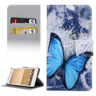 Schutzhülle Muster 32 für HTC One A9 Tasche Book Cover Case Hülle Etui Schutz