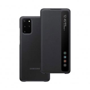 Samsung Smart Clear View Cover EF-ZG985CBEGEU für Galaxy S20+ Back Schwarz Case