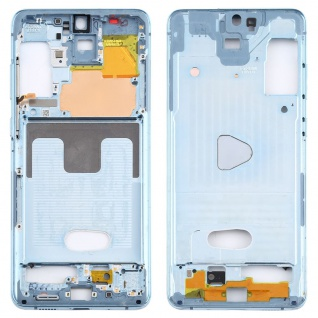 Mittelrahmen Samsung Galaxy S20 Plus Blau Middle Frame Zubehör Ersatzteil