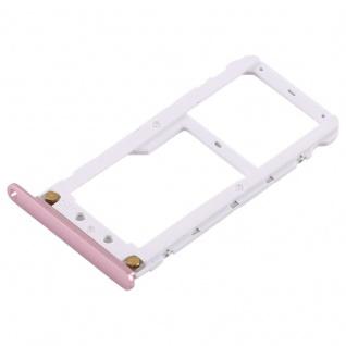 Für Xiaomi Redmi Note 5 Karten Halter Sim Tray Schlitten Holder Ersatz Pink Neu