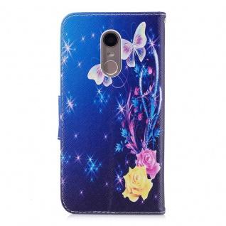 Tasche Wallet Book Cover Motiv 37 für Xiaomi Redmi 5 Plus Etui Neu Hülle Case - Vorschau 5