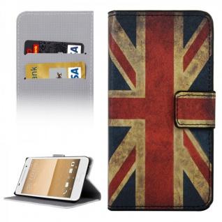 Schutzhülle Muster 9 für HTC One A9 Tasche Book Cover Case Hülle Etui Schutz