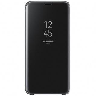 Samsung Flip Tasche Clear View EF-ZG960CB für Galaxy S9 G960 Hülle Cover Schwarz - Vorschau 4