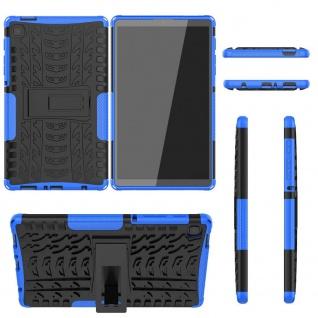 Für Samsung Galaxy Tab A7 Lite 2021 8.7 Hybrid Blau Tablet Tasche Etuis Hülle