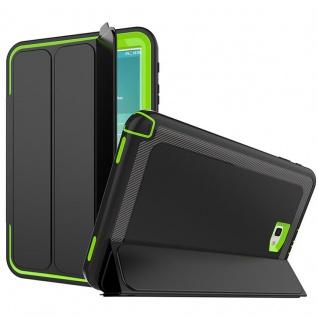 Hybrid Outdoor Schutzhülle Grün für Samsung Galaxy Tab A 10.1 T580 Tasche Cover