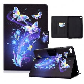 Für Apple iPad Mini 2 / 3 / 4 / 5 Motiv 4 Tablet Tasche Kunst Leder Hülle Etuis