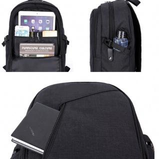 Multi Funktions Rucksack für Smartphone / Tablet / Laptop Reisen Hülle Tasche - Vorschau 3