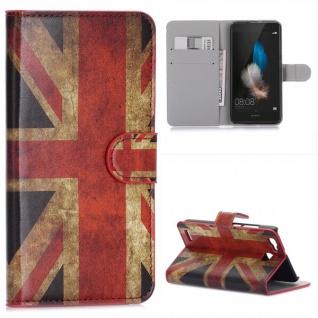 Schutzhülle Muster 9 für Huawei P9 Bookcover Tasche Case Hülle Wallet Etui Neu