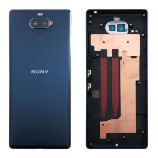 Sony Xperia 10 78PD0300030 Akku Deckel Batterie Cover Navy Ersatz Teil Neu