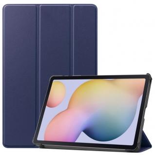 Smart Cover Blau Tasche Etui Hülle für Samsung Galaxy Tab S7 T870 / T875 2020
