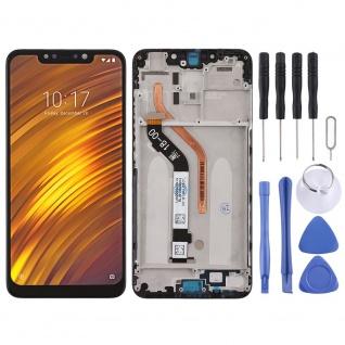 Für Xiaomi Poco Pocofone F1 Display Full LCD Touch mit Rahmen Reparatur Schwarz