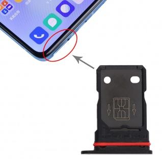 Für OnePlus 9R Dual Sim Karten Halter Adapter Schwarz Ersatzteil Reparatur