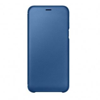 Samsung Wallet Cover Hülle EF-WA600CLEGWW Galaxy A6 2018 A600F Schutzhülle Blau - Vorschau 3