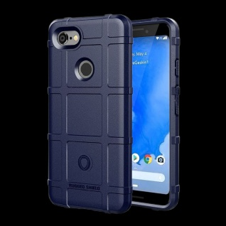 Für Google Pixel 3 XL Shield Series Outdoor Blau Tasche Hülle Cover Schutz Case