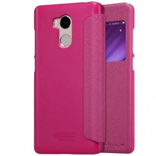 Nillkin Smartcover Pink für Xiaomi Redmi 4 Pro Tasche Hülle Case Etui Schutz Neu