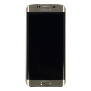 Display LCD Komplettset Touchscreen Gold für Samsung Galaxy S6 Edge G925 G925F - Vorschau 2