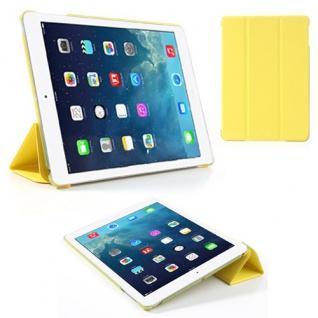 Smartcover Gelb Case Etui für Apple iPad Air Case Hülle + Folie und Touchpen Neu