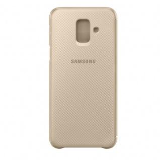 Samsung Wallet Cover Hülle EF-WA600CFEGWW Galaxy A6 2018 A600F Schutzhülle Gold - Vorschau 3
