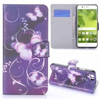 Schutzhülle Muster 24 für Huawei P10 Plus Bookcover Tasche Case Hülle Wallet Neu
