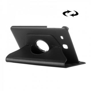 Schutzhülle 360 Grad Schwarz Tasche für Samsung Galaxy Tab E 9.6 SM T560 T561