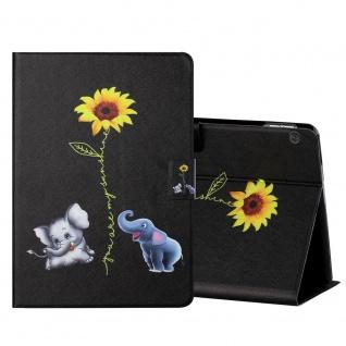 Für Lenovo Tab M10 10.1 Zoll X605F Motiv 6 Tablet Tasche Kunst Leder Hülle Etuis