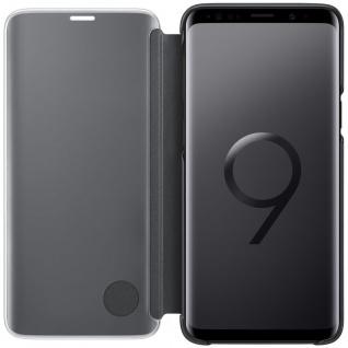 Samsung Flip Tasche Clear View EF-ZG960CB für Galaxy S9 G960 Hülle Cover Schwarz - Vorschau 2
