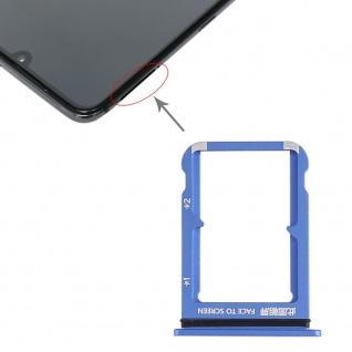Sim Card Tray für Xiaomi Mi 9 Blau Karten Halter Holder Ersatzteil Reparatur