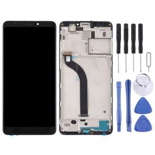 Für Xiaomi Redmi 5 Reparatur Display LCD Komplett Einheit mit Rahmen Schwarz Neu - Vorschau 2