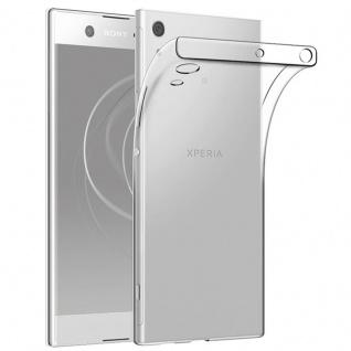 Schutzhülle TPU Transparent Tasche für Sony Xperia XA1 XA 1 Hülle Cover Schutz