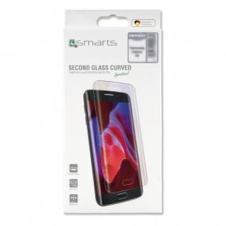 0, 3mm Second Glass Curved Schutzglas Transparent für Samsung Galaxy S9 Plus G965