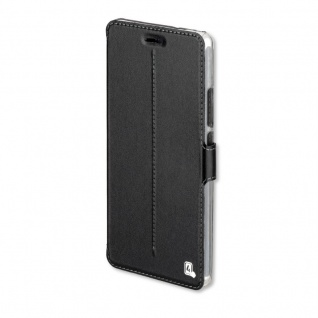 Supremo Smart Cover für Huawei P9 Lite Book Tasche Schutzhülle Hülle Schwarz Neu