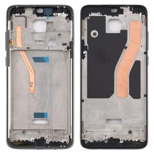 Gehäuse Rahmen Mittelrahmen Deckel für Xiaomi Redmi Note 8 Pro Schwarz Ersatz