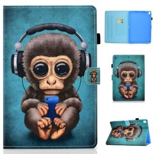 Für Apple iPad 10.2 Zoll 2019 / 2020 Motiv 83 Tablet Tasche Kunst Leder Etuis