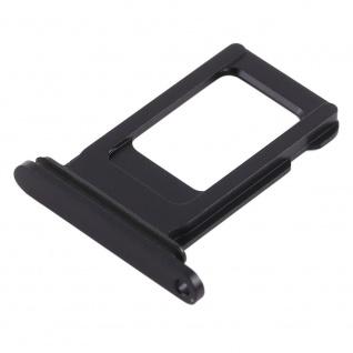 Für Apple iPhone XR 6.1 Sim Karten Halter Schwarz SD Card Ersatzteil Zubehör - Vorschau 3