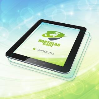 2x 0, 26 mm H9 Hartglas Glas Panzer Tempered Folie für Samsung Galaxy Tab S6 10.5