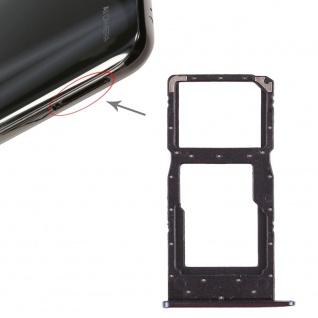 Für Huawei P Smart 2019 Karten Halter Sim Tray Schlitten Holder Blau Neu Ersatz