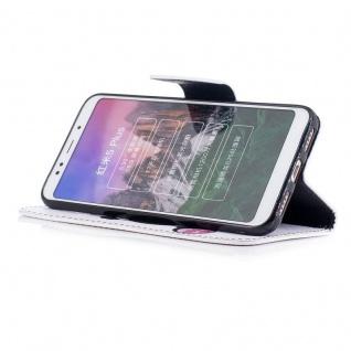 Für Huawei P Smart Plus Kunstleder Tasche Book Motiv 33 Schutz Hülle Case Cover - Vorschau 5
