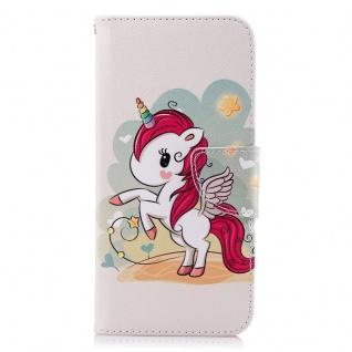 Tasche Wallet Book Muster Motiv 35 für Smartphones Schutz Hülle Case Cover Etui - Vorschau 3