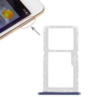 Sim Card Tray für Xiaomi Pocophone F1 Karten Halter Holder Ersatzteil Blau