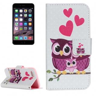 Schutzhülle Muster 74 für Apple iPhone 7 Bookcover Tasche Case Hülle Wallet Etui